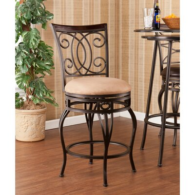 Leann 25.25 Swivel Bar Stool