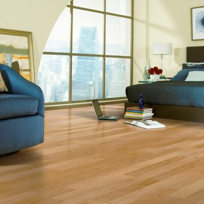 2-1/4 Solid Red Oak Hardwood Flooring in Natural