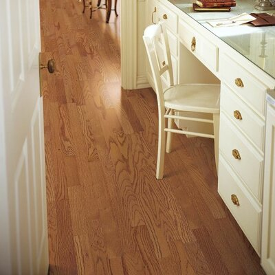 3-1/4 Solid Ash Hardwood Flooring in Butterscotch