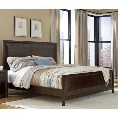 Dion Panel Bed Size: King