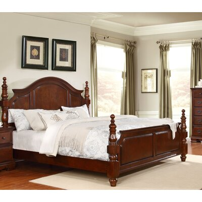 Cartago Four poster Bed Size: King