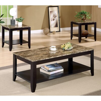 Josefa 3 Piece Coffee Table Set