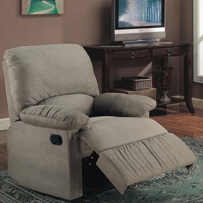 Wellton Manual Recliner Upholstery: Sage