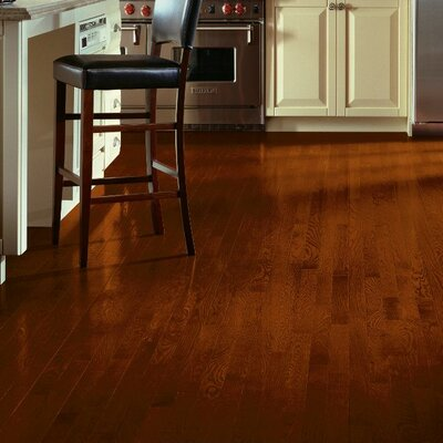 2-1/4 Solid White Oak Hardwood Flooring in Cherry