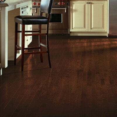 2-1/4 Solid White Oak Hardwood Flooring in Kona