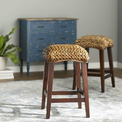 Harleigh 24 Bar Stool Upholstery: Natural