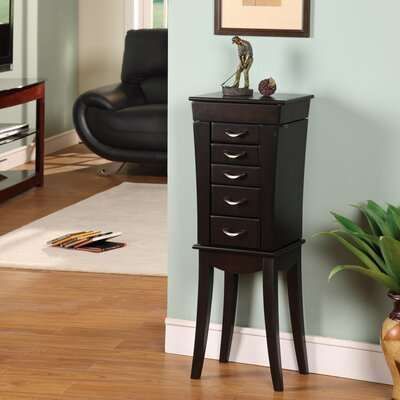 Wildon Home London Five Drawer Jewelry Armoire at Sears.com