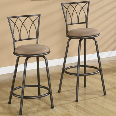 Rent to own Borden Barstool in Brown (Set of 2)...