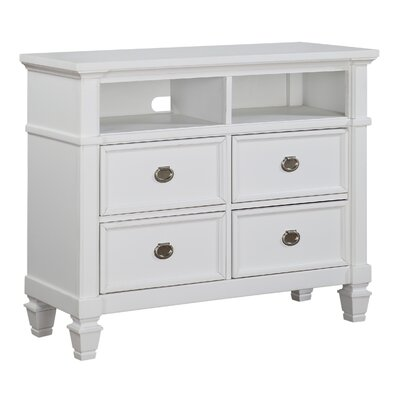 Dolce 4 Drawer Media Chest