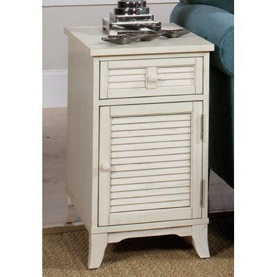 End Table Color: White Linen