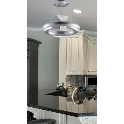 Annello 3-Light Semi Flush Mount