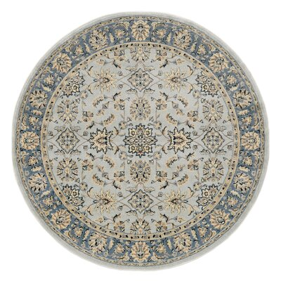 Softmint Green Area Rug Rug Size: Round 53