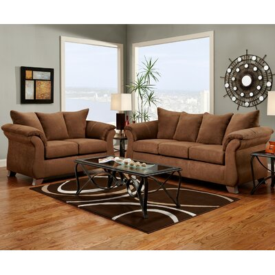 Carter 2 Piece Living Room Set