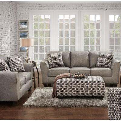 Carlos 3 Piece Living Room Set