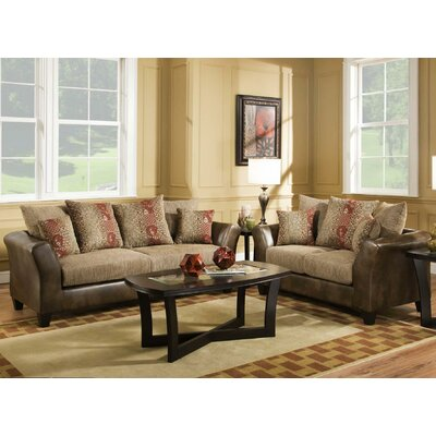 Dopson Sofa and Loveseat Set