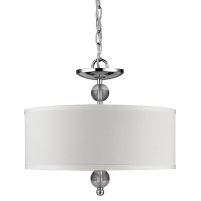 Anthony 2-Light Convertible Semi Flush Mount