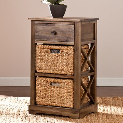 Quinones 1 Drawer End Table