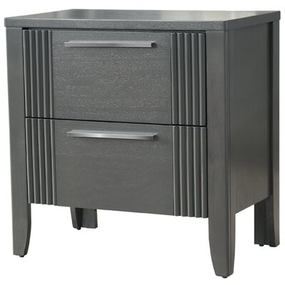 Coppin 2 Drawer Nightstand