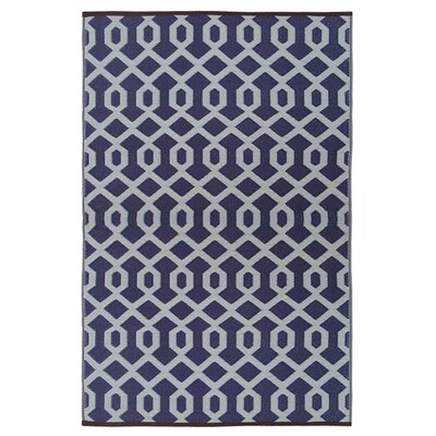 Lightweight Reversible Plum/Silver Indoor/Outdoor Area Rug