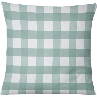 Wysocki Throw Pillow Size: 26 H x 26 W, Color: Teal