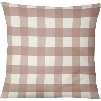 Ophelie Throw Pillow Size: 16 H x 16 W, Color: Pink