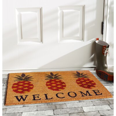 Ashby Pineapple Welcome Doormat
