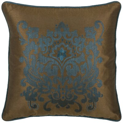 Deloris Throw Pillow Color: Brown