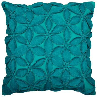 Florent Throw Pillow Color: Teal
