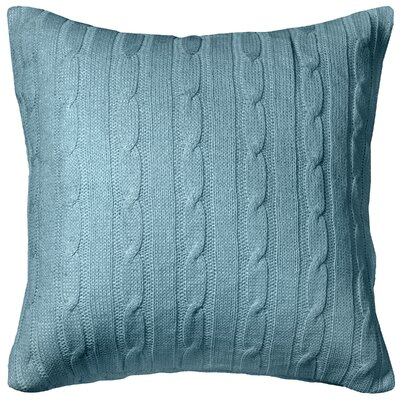 Dalal  Pillow Cover Color: Blue/Silver