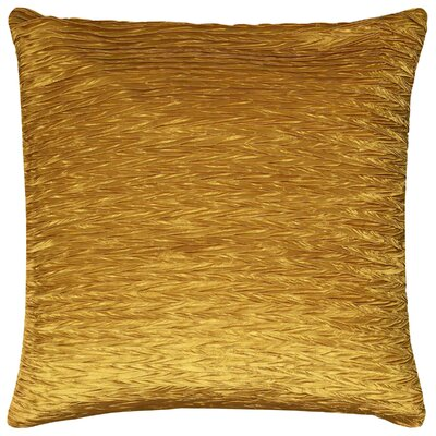 Dakayla Pillow Cover Color: Gold