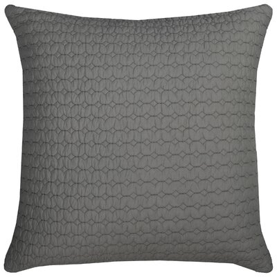 Chasitie 100% Cotton Throw Pillow Color: Gray