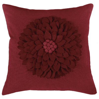 Dakote  Pillow Cover Color: Red