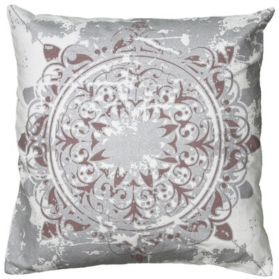 Cynthya  Pillow Cover Color: Silver