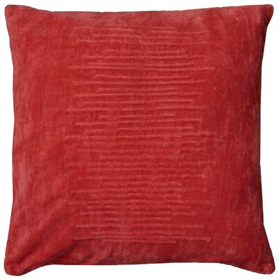 Dahrah Throw Pillow Color: Coral