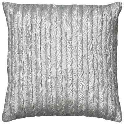 Dai Throw Pillow Color: Silver