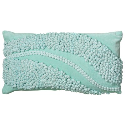Daianna  Pillow Cover Color: Aqua