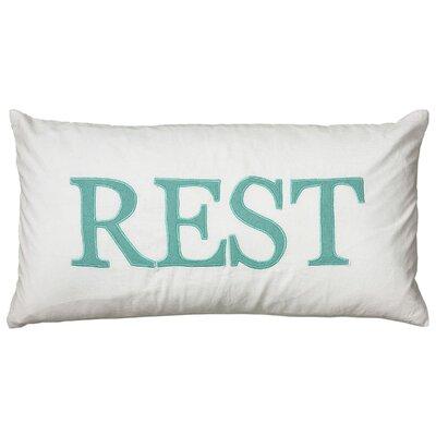 Daija  Pillow Cover Color: Teal