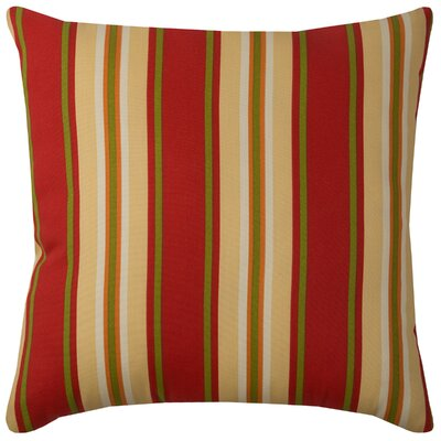 Clarinda Indoor/Outdoor Floor Pillow Color: Sangria