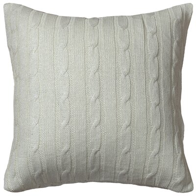 Dalal  Pillow Cover Color: Cream/Silver