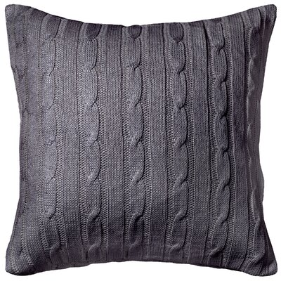 Dalal  Pillow Cover Color: Gray/Silver
