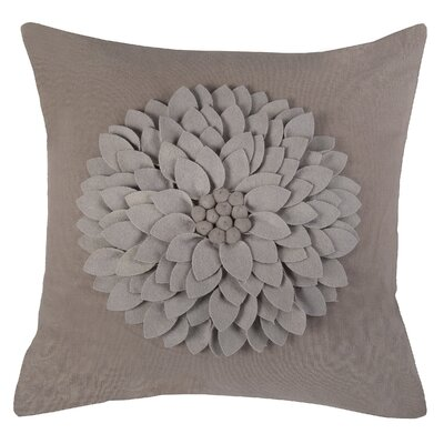 Dakote  Pillow Cover Color: Taupe