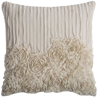 Denika Throw Pillow Color: Ivory