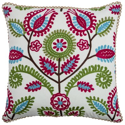 Charlotty  Cotton Throw Pillow
