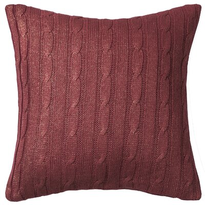 Dalal  Pillow Cover Color: Red/Gold