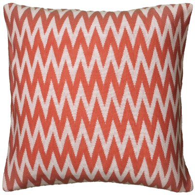 Dahlye  Pillow Cover Color: Coral