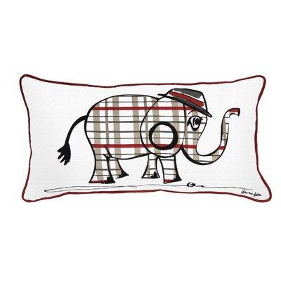 Belita Cotton Pillow Color: Gray