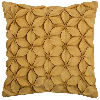 Florent Throw Pillow Color: Yellow