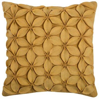 Deniece Throw Pillow Color: Yellow