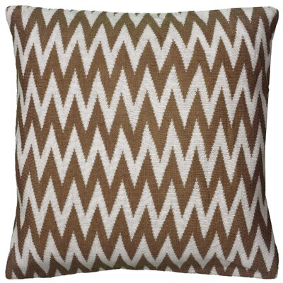 Dahlye  Pillow Cover Color: Brown