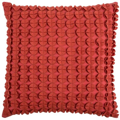 Denice Throw Pillow Color: Red